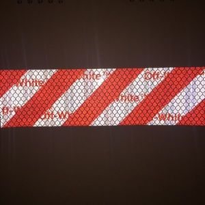OFFWHITE Reflective Sticker